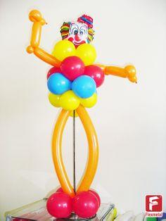 Balão metalizado para decoração de festa com tema CIRCO.  www.flexmetal.com...  #flexmetal #balao #balaodecoracao #balaopersonalizado #balaometalizado #balaodefesta #baloesmetalizados #baloespersonalizados #alegria #festa