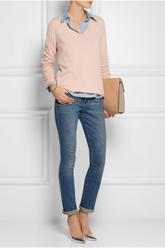 J.CREW Collection cashmere sweater £166.25 http://www.net-a-porter.com/products/486406