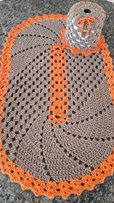 Crochet doily, farmhouse placemats, flower doilies, country house decor, set of 6 pcs Crochet Table Mat, Crochet Table Runner Pattern, Crochet Carpet, Crochet Home, Farmhouse Placemats, Knitting Patterns, Crochet Patterns, Crochet Dollies, Crochet Diagram