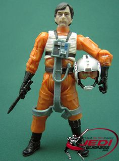 Star Wars Action Figure Wedge Antilles (Return Of The Jedi), Star Wars The Vintage Collection