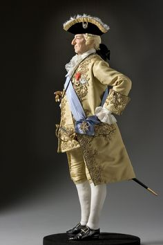 Full length color image of Louis XV 1774 aka. by George s. stuart