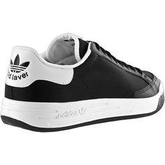 Adidas Rod Laver in Black/White