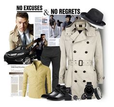 No Excuses & No Regrets by rj-cupcake on Polyvore featuring Bally, Burberry, Borsalino, Movado, Calvin Klein, women's clothing, women's fashion, women, female and woman