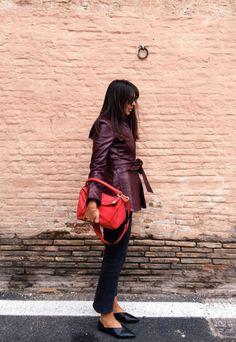 Hanna MW looking cool in pre fall 16 Genevie leather jacket #houseofdagmar #hannamw http://hannamw.chic.se/