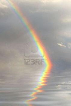 reflejo de arco iris