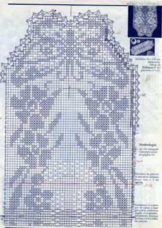 Mariposa Crochet Table Runner, Crochet Tablecloth, Crochet Doilies, Crochet Flowers, Filet Crochet, Crochet Stitches, Knit Crochet, Crochet Patterns, Crochet Carpet