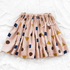 bobo choses skirt - mixed shapes