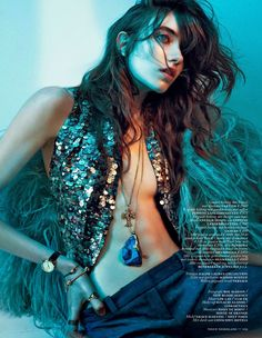 Grace Hartzel by Boe Marion for Vogue September 2014