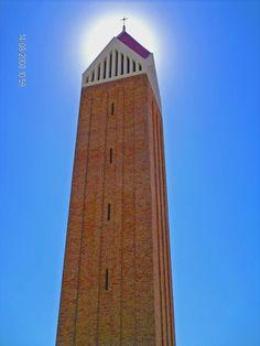 213  campanile della madonna incoronata di Foggia, incoronata, Foggia, Puglia, (foto di harley spicespan)