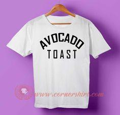 Avocado Toast T-shirt #tshirt #tee #tees #shirt #apparel #clothing #clothes #customdesign #customtshirt #graphictee #tumbrl #cornershirt #bestseller #bestproduct #newarrival #unisex #mantshirt #mentshirt #womanTshirt #text #word #white #whitetshirt #menfashion #menstyle #style #womenstyle #tshirtonlineshop #personalizetshirt #personalize #quote #quotetshirt #wear #outfit #womenfashion