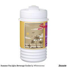 Summer Fun Igloo Beverage Cooler