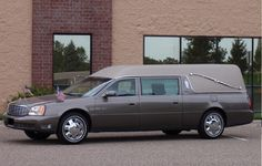 2001 Cadillac DeVille Renaissance Hearse by Federal