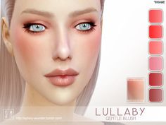 The Sims Resource: Lullaby – Gentle Blush by Screaming Mustard • Sims 4 Downloads