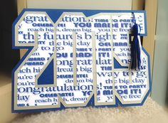 2015 Graduation Card  custom color available by SassaScraps