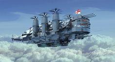 ArtStation - HMS Belfast, Liam Keating
