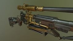 The Order 1886 Fanart - Pneumatic Rifle (looking for critiques) — polycount