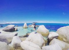 @Regrann from @dianacalupis -  Yaaaaah.. Long weekendnya habis tapi harus tetep bahagia  #Regrann Belitung, Paradise, Places, Instagram Posts, Water, Outdoor, Gripe Water, Outdoors, Outdoor Games