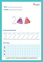 Fișe de lucru - Scrierea cifrelor și a numerelor Tracing Worksheets, Preschool Worksheets, Preschool Learning Activities, Preschool Activities, Numbers Preschool, Math 2, Google Classroom, Homeschool, Crafts For Kids