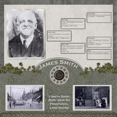 James Smith ~ heritage family tree page.