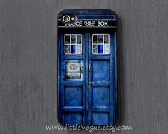 The Tardis Doctor Who iPhone Case iphone cover by LittleVogue, $6.99