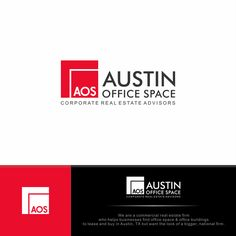 Design a fresh new logo and identity package for AustinOfficeSpace by Rully Bachtiar
