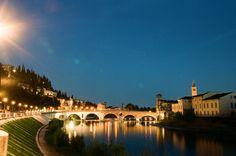L'Adige a Ponte Pietra, Verona - 2012 Foto di Alba Rigo