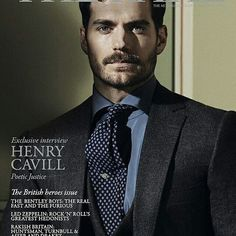 Repost @therakeonline Henry Cavill talks to our Editor @tfchamberlin about patriotism, the perils of Hollywood, and why Clark Kent's alter ego is the hero we need in these bewildering times. Read an exclusive preview on TheRake.com now and pick up the latest issue on newsstands from October 13th. Cover photography: @kalle_gustafsson. Fashion Direction: @grzeszczuk. Bespoke three-piece suit and silk shirt, both @cifonelli_official, property of @henrycavill; printed tie, @ralphlauren Purple…