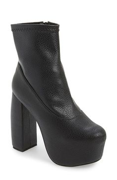 Jeffrey Campbell 'Fiction' Platform Ankle Bootie (Women) available at #Nordstrom