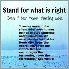 I've been standing alone for 3 months now. Stop Bullying, Anti Bullying, Bullying Quotes, Words Quotes, Sayings, What Are Rights, Question Everything, How To Stay Awake, History Facts