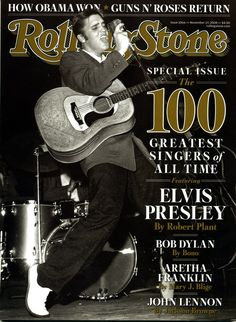 Elvis Presley - 100 Greatest Singers of All Time