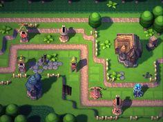 : The Trolls Strike Back Game Environment, Environment Design, Game Concept, Concept Art, Game Character, Character Design, Map Games, Defense Games, Casual Art