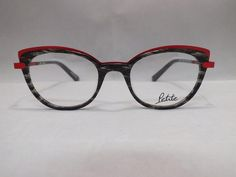 JF Rey frames announce loud and strong their willingness to express their character from the eye catching front to the end of their temples. The Petite line is designed specifically to fit smaller faces comfortably. Manufactured in France. 47-18-140 Color 0030 (Tortoise & Red) Plastic Frame