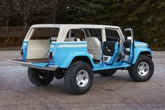 Jeep Chief Concept. If this comes out i'm getting it!