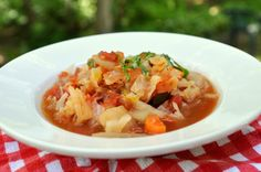 """Diet Cabbage Soup"" 4 Variations"