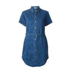 Carven denim shirt dress, $305.31, available at Farfetch.
