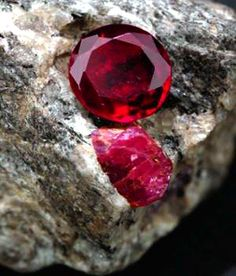 Ruby Gemstones The Ruby is the stone that brings happiness but it is also the stone to commemorate the and wedding