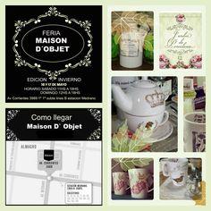Todos nuestros diseños en un solo lugar!! Calcos - Vajilla - Cristal Vintage Feria-Deco del Sab 16 y Dom 17/May de 11 a 18hs.