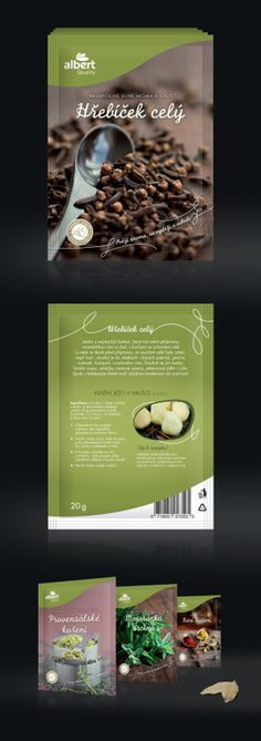 Albert Quality – Herbs & Spices #packaging on Behance PD