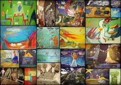 Art Education, Illustrations, Painting, Art Education Resources, Painting Art, Paintings, Illustration, Paint, Draw