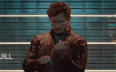 Chris Pratt: Peter Quill, Starlord - Guardians of The Galaxy, Marvel. Avengers Gif, Marvel Gif, Marvel Funny, Marvel Memes, Star Lord, Peter Quill, Tom Holland, Chris Pratt Gif, Chris Pratt Memes