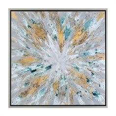 Uttermost 34361 Exploding Star Modern Abstract Art