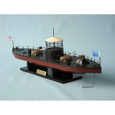 Monitor Limited Civil Warship Model 21 inch