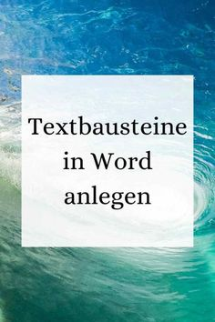 Textbausteine / Autotext in Word - IT-Kenntnisse verbessern - Expolore the best and the special ideas about Content marketing Blush Throw, Bullet Journal Christmas, Microsoft, Prima Marketing, Paper Tree, Old Book Pages, Knitted Throws, Paper Hearts, How To Make Paper