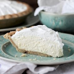 This Banana Cream Pie reminds me of my childhood.
