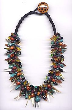 Stephanie Sersich. 'Temptress Collar'. glass
