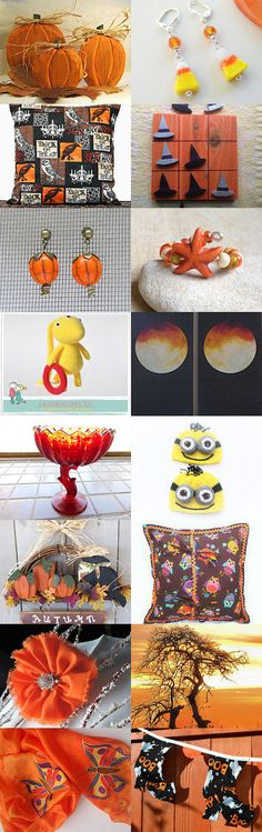 Tempting Halloween Treasures by Susan McAnany on Etsy--Pinned with TreasuryPin.com