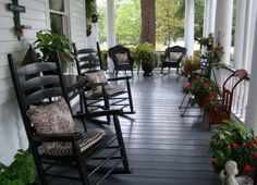Outdoor relaxation southern style