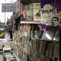 A well-chosen selection of new and old vinyl and CDs. http://www.philarecx.com