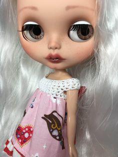 RESERVED for Sherri Custom Blythe Doll OOAK named by EmmyBlythe
