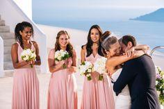 Wedding ceremony at Rocabella Santorini